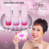 Set 3 thỏi son kem cho bé Elyza Teen Liquid Lipstick - Hương Thị