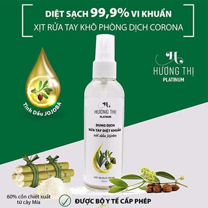Xịt rửa tay khô diệt khuẩn với dầu Jojoba Hương Thị
