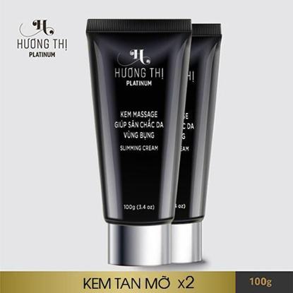 Combo 2 Hộp Kem massage tan mỡ Hương Thị Slimming Cream 120g 1